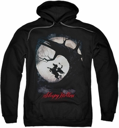 Sleepy Hollow pull-over hoodie Poster adult black