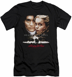 Sleepy Hollow slim-fit t-shirt Heads Will Roll mens black