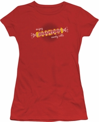 Smarties juniors t-shirt Enjoy red