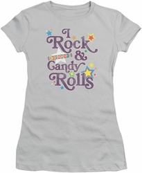 Smarties juniors t-shirt I Rock Silver
