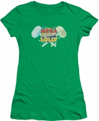 Smarties juniors t-shirt Mega Lolly Kelly Green