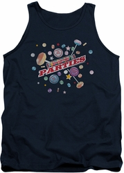 Smarties tank top Parties mens navy