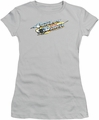 Smokey and The Bandit juniors t-shirt Logo silver