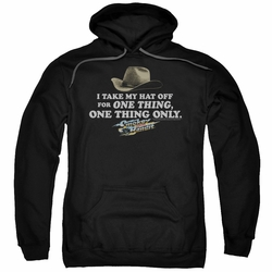 Smokey And The Bandit pull-over hoodie Hat adult black