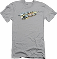 Smokey And The Bandit slim-fit t-shirt Logo mens silver