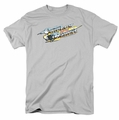 Smokey And The Bandit t-shirt Logo mens silver