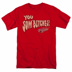 Smokey And The Bandit t-shirt Sombitch mens red