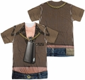 SNL Saturday Night Live mens full sublimation t-shirt Cowbell Costume