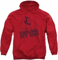 SNL Saturday Night Live pull-over hoodie Hitman adult red