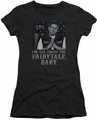 Sons of Anarchy juniors sheer t-shirt Fairytale Baby black