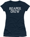Sons of Anarchy juniors sheer t-shirt Reaper Crew navy