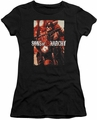 Sons of Anarchy juniors t-shirt Code Red black