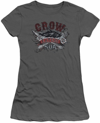 Sons of Anarchy juniors t-shirt Eat Moe Crow charcoal