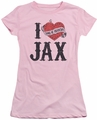 Sons of Anarchy juniors t-shirt I Heart Jax pink