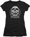 Sons of Anarchy juniors t-shirt SOA Club black