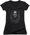 Sons of Anarchy juniors v-neck t-shirt Jax black