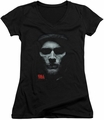 Sons of Anarchy juniors v-neck t-shirt Skull Face black