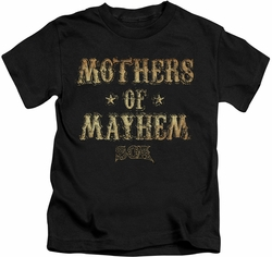 Sons of Anarchy kids t-shirt Mothers Of Mayhem black