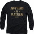 Sons of Anarchy long-sleeved shirt Mothers Of Mayhem black