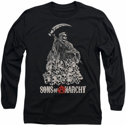 Sons of Anarchy long-sleeved shirt Pile Of Skulls black