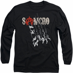 Sons of Anarchy long-sleeved shirt Rip Through black