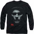 Sons of Anarchy long-sleeved shirt Skull Face black