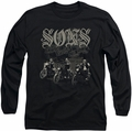 Sons of Anarchy long-sleeved shirt Sons Live Free black