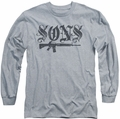 Sons of Anarchy long-sleeved shirt Worn Son athletic heather