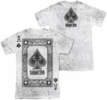 Sons of Anarchy mens full sublimation t-shirt Ace Of Spades