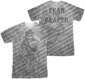Sons Of Anarchy mens full sublimation t-shirt Black Oyster Club