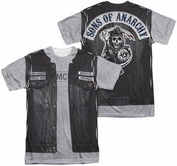 Sons of Anarchy mens full sublimation t-shirt Unholy Costume