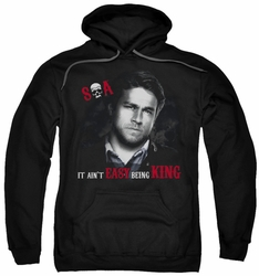 Sons Of Anarchy pull-over hoodie Being King adult black