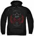 Sons Of Anarchy pull-over hoodie Cross Guns adult black