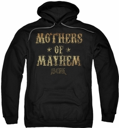 Sons of Anarchy pull-over hoodie Mothers Of Mayhem adult black