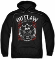 Sons Of Anarchy pull-over hoodie Outlaw adult black