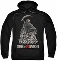Sons of Anarchy pull-over hoodie Pile Of Skulls adult black