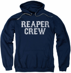 Sons Of Anarchy pull-over hoodie Reaper Crew adult navy