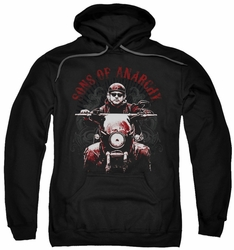Sons Of Anarchy pull-over hoodie Ride On adult black