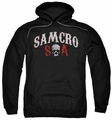 Sons Of Anarchy pull-over hoodie Samcro Forever adult black