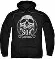 Sons Of Anarchy pull-over hoodie SOA Club adult black