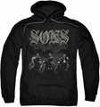 Sons of Anarchy pull-over hoodie Sons Live Free adult black