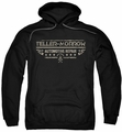 Sons Of Anarchy pull-over hoodie Teller Morrow adult black