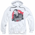 Sons of Anarchy pull-over hoodie Vice President adult white