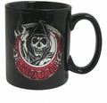 Sons of Anarchy Reaper Foil black Coffee Mug
