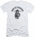 Sons Of Anarchy slim-fit t-shirt Bloody Sickle mens white