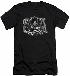 Sons Of Anarchy slim-fit t-shirt Charming Ca mens black