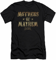 Sons of Anarchy slim-fit t-shirt Mothers of Mayhem mens black
