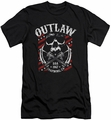 Sons Of Anarchy slim-fit t-shirt Outlaw mens black