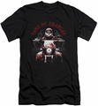 Sons Of Anarchy slim-fit t-shirt Ride On mens black