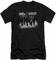 Sons of Anarchy slim-fit t-shirt Rolling Deep mens black